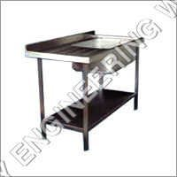 Spotting Table With Sink