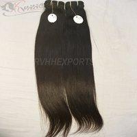 Silk Straight Pure Indian Temple Human Hair
