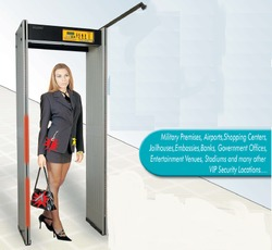 Metal Detector With CCTV Support