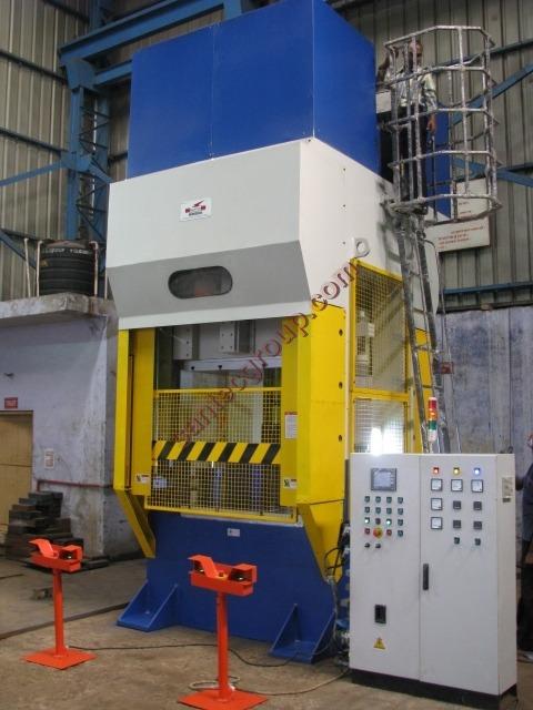 Vacuum Compression Molding Press