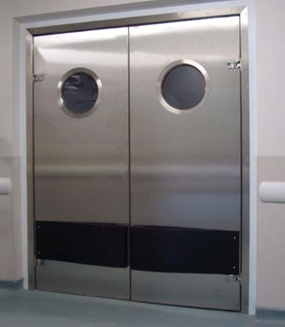 Personnel Doors Double Swing
