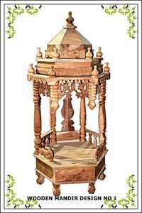 Carved Wooden Temple