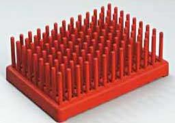 Tube Test PEG Rack