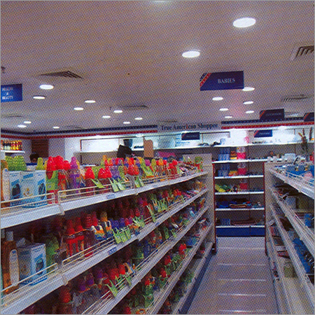 Slotted Angle Display Racks