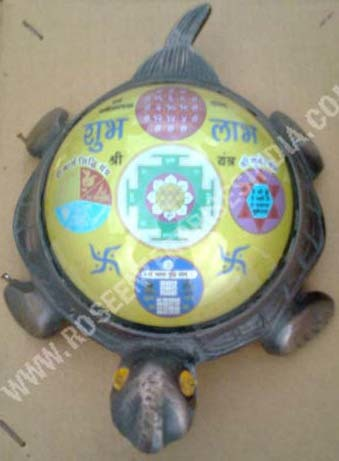 Antique Subh Labh Tortoise Shree Yantra
