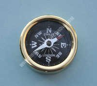 Nautical Brass Mini Pocket Compass