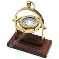 Nautical Marine Brass Gimbal Compass