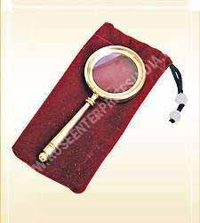 Nautical Pocket Magnifying With Pouch