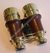 Nautical Vintage Hand Held Brass Binocular