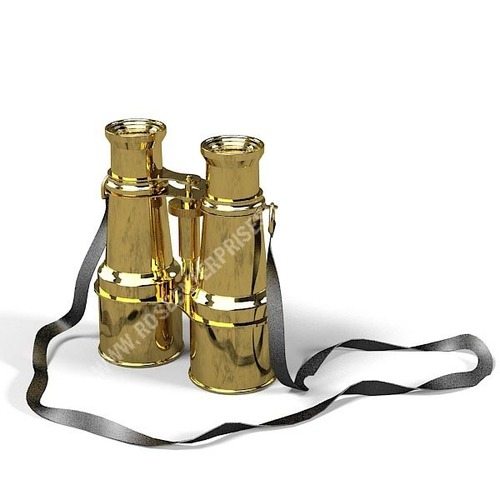 Nautical Marine Full Brass Binocular
