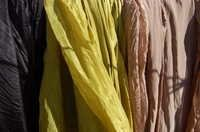Organic herbal dyed fabrics