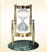 Brass Sand Timer With Base