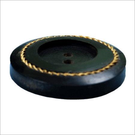 Horn Brass Inlay Buttons