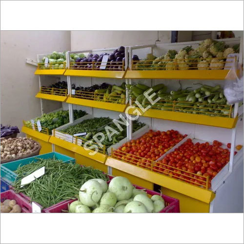 Vegetable Display Racks