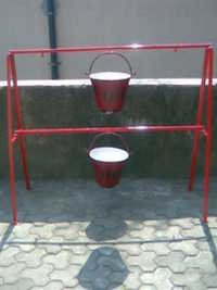 Fire Bucket And Fire Bucket Stand