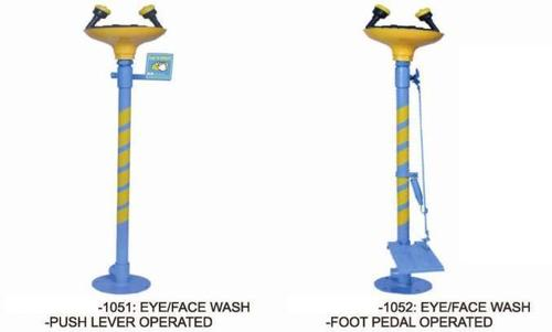Safety Shower And Eye Wash Fountain