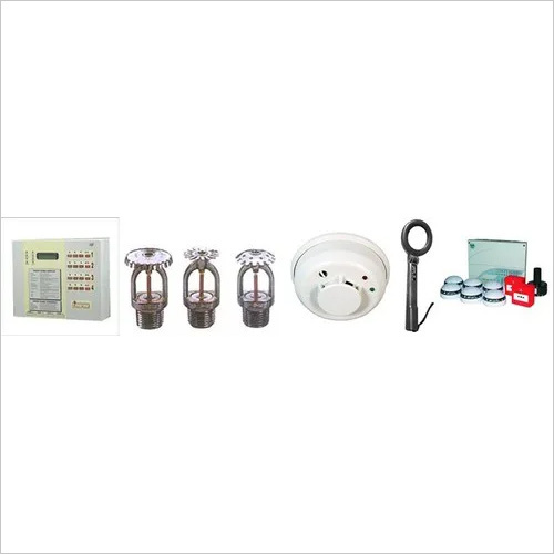 Fire Alarm System, Smoke And Heat Detectors