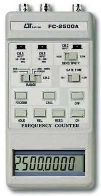 Handheld Frequency Counter