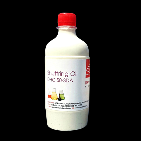 Oil Based White Shuttering Oil