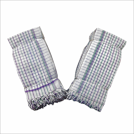 Checked Khadi Towel