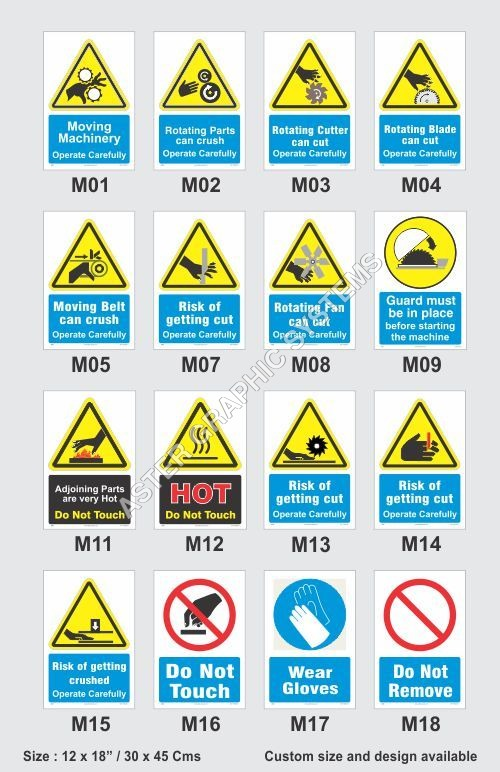Workplace Safety Stickers