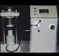 Compression Testing Machine Electrically Operated