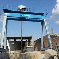 Without Overhang Gantry Crane