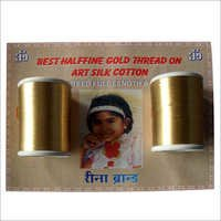 Half Fine Gold Zari Threads