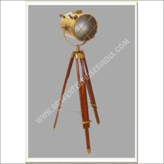 Antique Nautical Tripod Spot Light Lamp