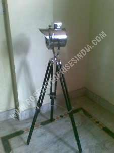 Studio Floor Lamp Nautical Tripod Light
