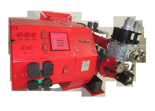 Double stage Dual Fuel Burner