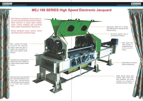 High Speed Electronic Jacquard