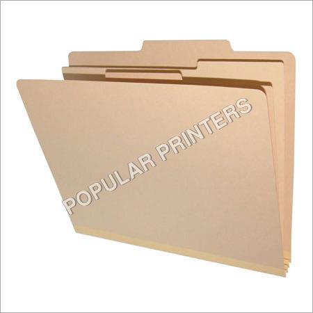 Printed File Folders