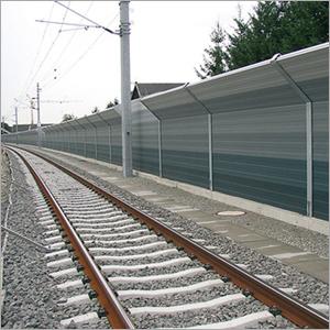Noise Barrier For Railway