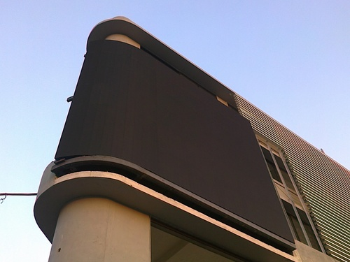 Outdoor Curved LED Display