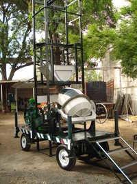 Combo Mixer four Pole Lift