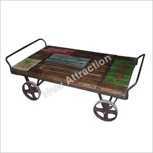 Recycled Wooden Trolley