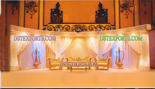 Royal Desi Wedding Stage