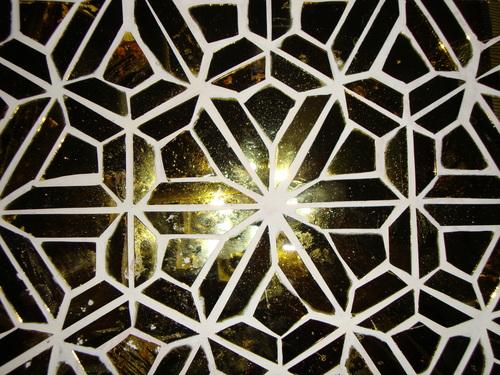 Geometrical Glass Panel