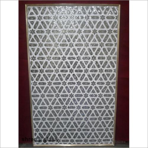 Geometrical Moasic Glass Panel