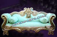 ROYAL WEDDING PEACOCK LOVE SEAT