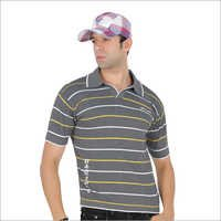 Grey Polo T Shirt