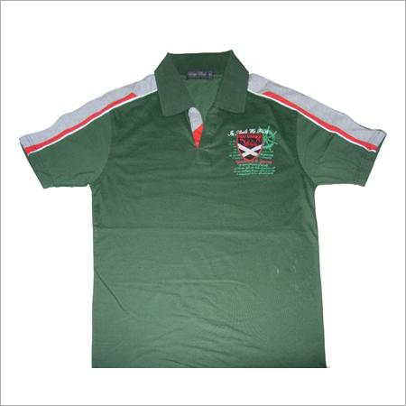 Collar Neck Promotional T Shirt