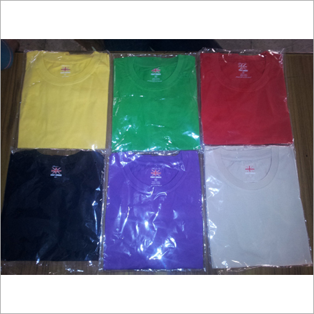 Plain Round Neck T-Shirts