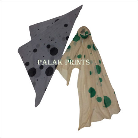 Woolen Screen Printed Stoles
