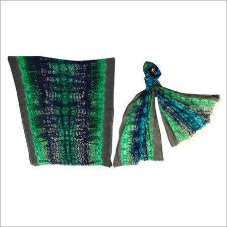 Wool Tie Dye Printed Stoles