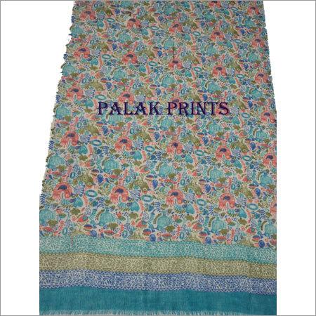 Wool Block Print Stoles