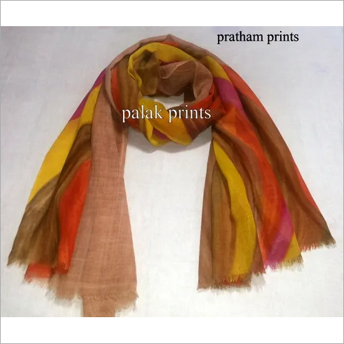 Wool Hand Painting Stoles