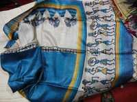 100% gitcha tussar silk sarees