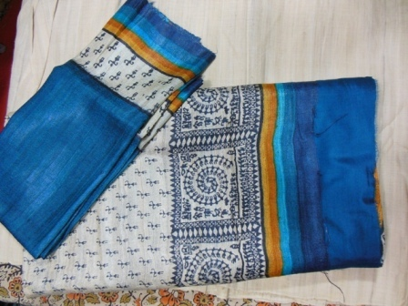100% Silk Tussar Suits